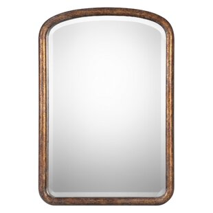Corrigan Studio Rectangle Wood Wall Mirror
