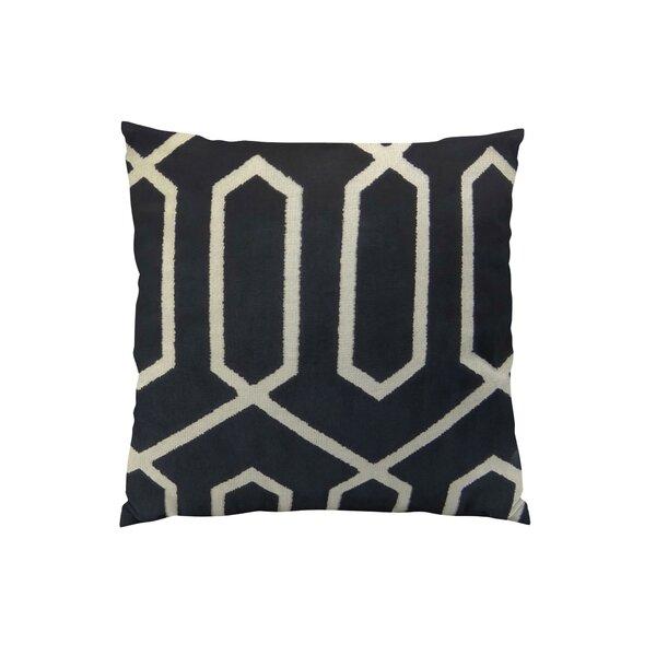 Bengal Lattice Throw Pillow by Plutus Brands