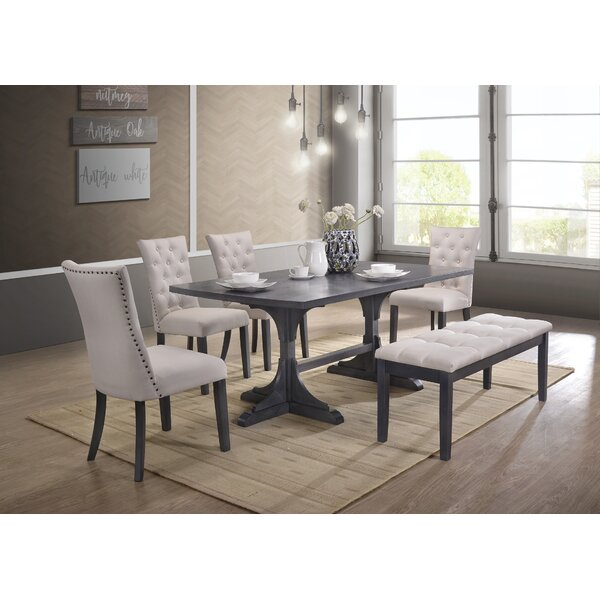 Galena 6 Piece Dining Set by Darby Home Co Darby Home Co