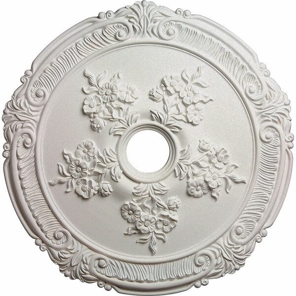 Attica with Rose 1/9H x 26W x 1 1/2D Ceiling Medallion by Ekena Millwork