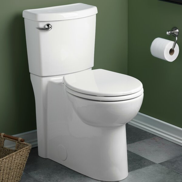 Cadet 3 Right Height 1.28 GPF Round Two-Piece Toilet by American Standard