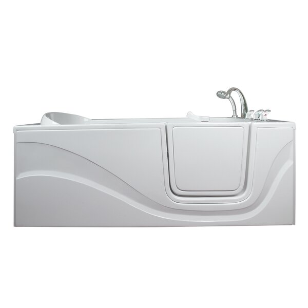 Lay Down Long Hydrotherapy Massage Whirlpool Walk-In Tub by Ella Walk In Baths