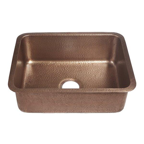 Renoir 23 L x 17.25 W Undermount Handmade Single Bowl Kitchen Sink