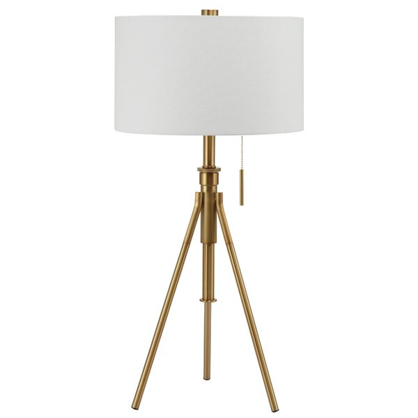 Devan Contemporary Adjustable 9 Tripod Table Lamp by Langley Street