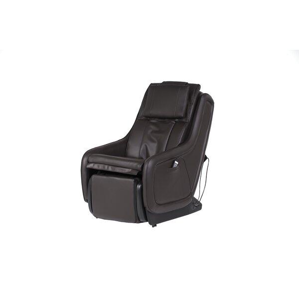 Deals ZeroG® 5.0 Reclining Adjustable Width Heated Massage Chair With Ottoman