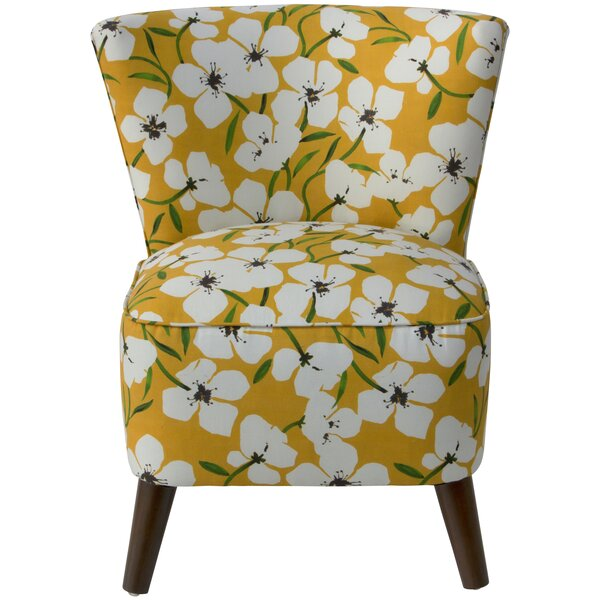 Coralie Slipper Chair by Latitude Run