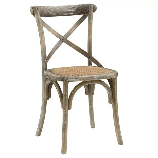 Pilar Side Solid Wood Dining Chair by Breakwater Bay