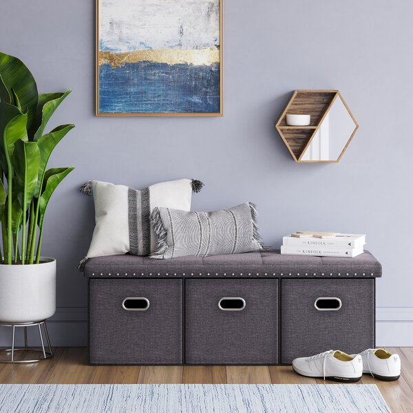 Darion Tufted Storage Ottoman by Winston Porter