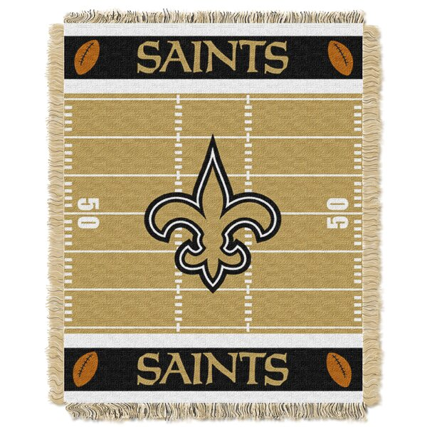 NFL Saints Field Baby Blanket by Northwest Co.