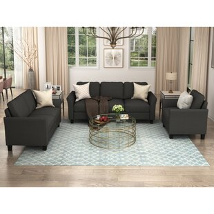 Eily 3 Piece Living Room Set by Red Barrel Studio®