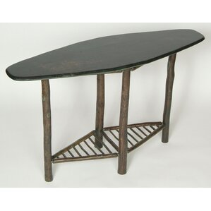 Table Rock Console Table by Flat Rock Furniture