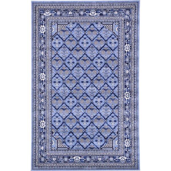 Katiranoma Blue Area Rug by World Menagerie