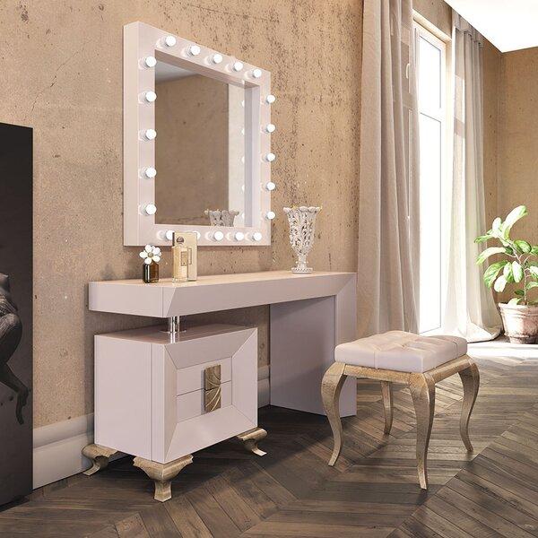 Lounsbury Vanity Set with Stool