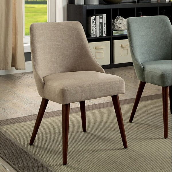 Carncastle Side Upholstered Dining Chair (Set of 2) by Ivy Bronx