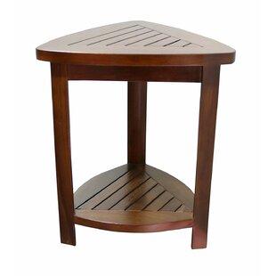 Surprising Corner Teak Shower Bench Pdpeps Interior Chair Design Pdpepsorg
