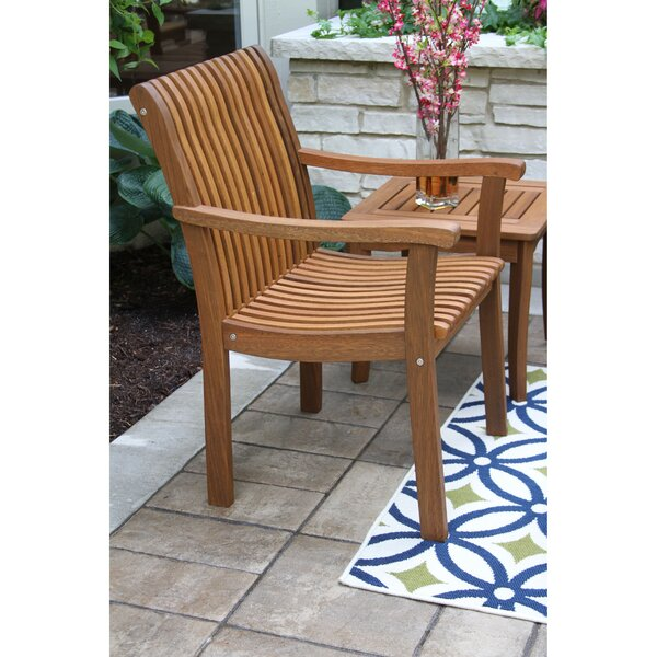 Venetian Teak Patio chair by Outdoor Interiors