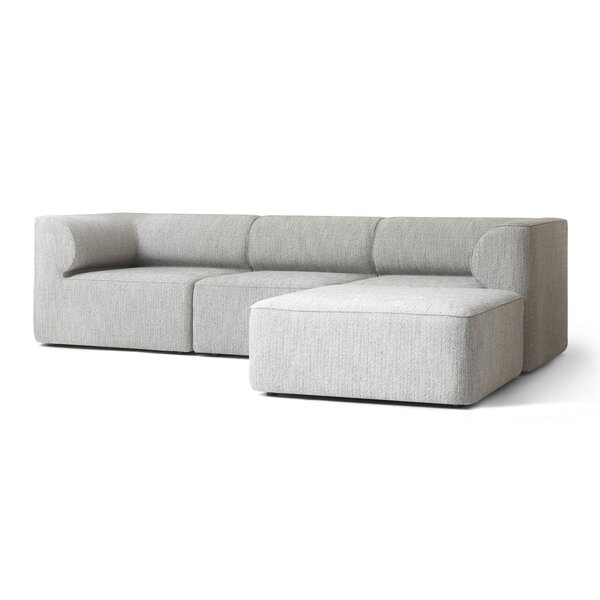 Eave Reversible Modular Sectional with Ottoman by Menu