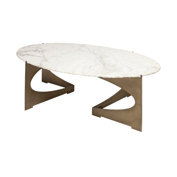 Willis Abstract Coffee Table by Everly Quinn Everly Quinn