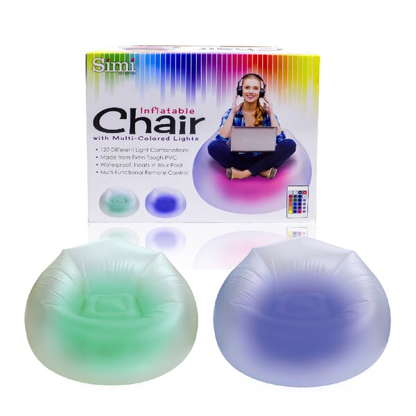 Inflatable Bean Bag Chair by Tectron