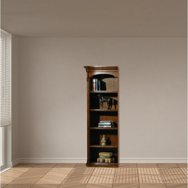 Caylee Left Pier Standard Bookcase by Darby Home Co