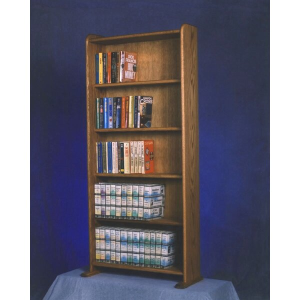 500 Series 200 DVD Multimedia Storage Rack by Wood Shed