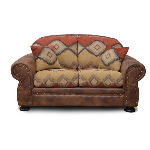 Best Range Of Shelbie Standard Loveseat by Millwood Pines by Millwood Pines