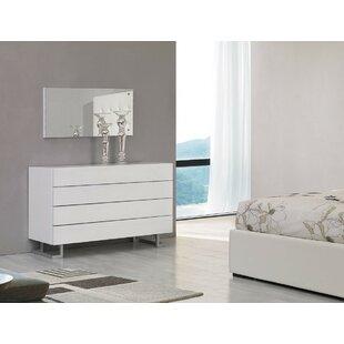 Great Febus 4 Drawer Bedroom Dresser
