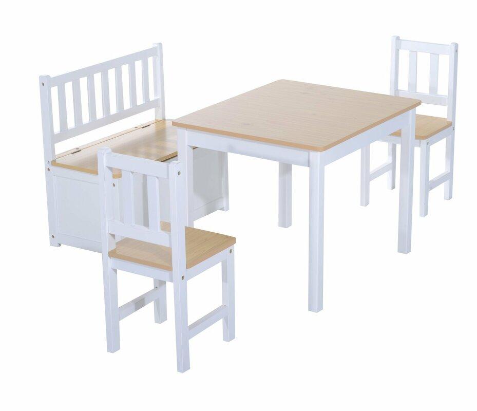 Kinder Tisch Stuhl : homcom 4 tlg kinder tisch und stuhl set bewertungen ~ Whattoseeinmadrid.com Haus und Dekorationen