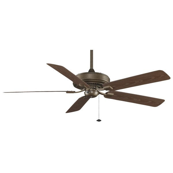 60 Edgewood Deluxe 5 Blade Ceiling Fan by Fanimation