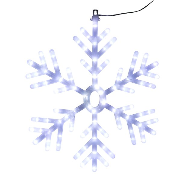 Snowflake Christmas Lighted Display by Alpine
