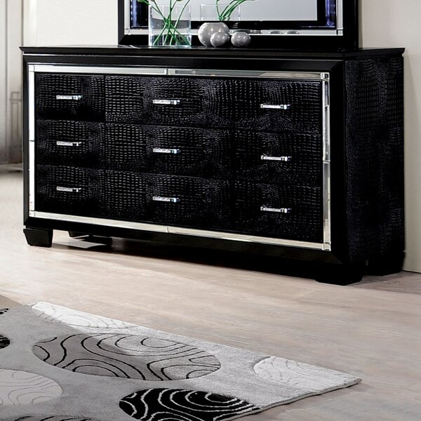 Ibrahim 9 Drawer Dresser by Willa Arlo Interiors