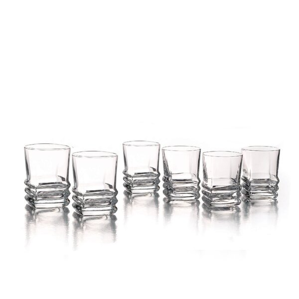 Piazza 2.75 oz. Glass Shot Glass (Set of 6) by Style Setter