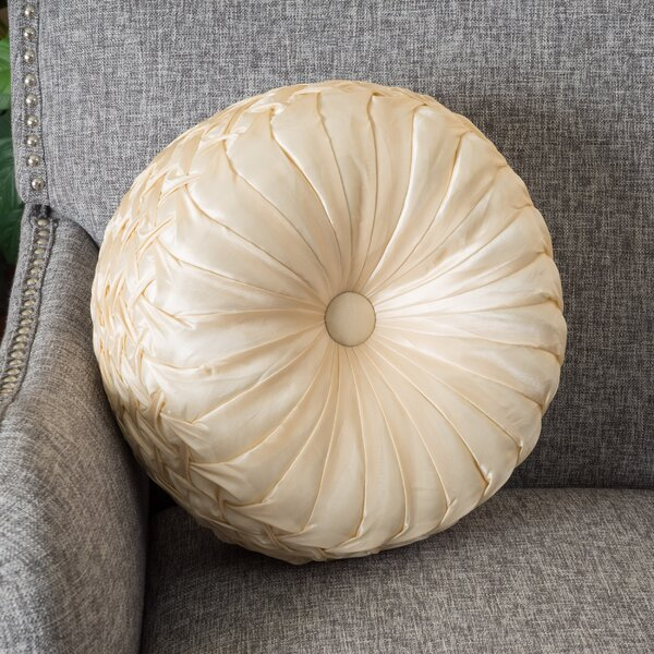 Sateen Linen Throw Pillow by Home Loft Concepts