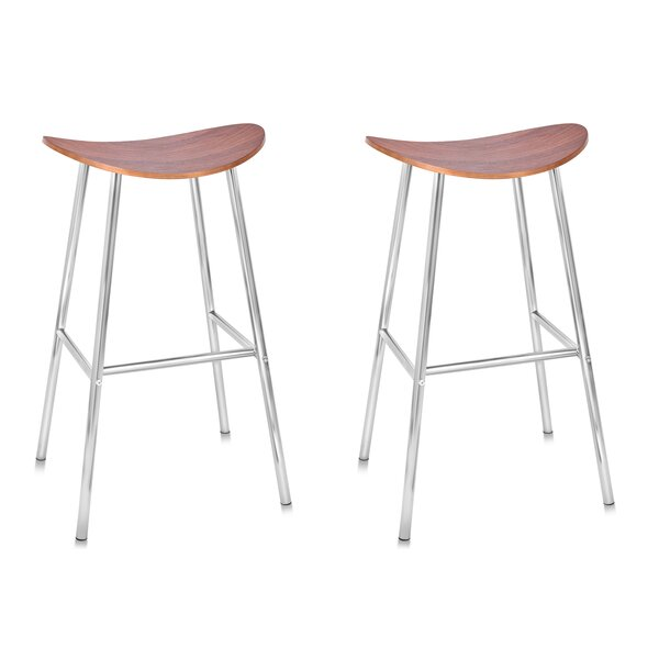 Bentwood 28 Bar Stool (Set of 2) by BirdRock Home
