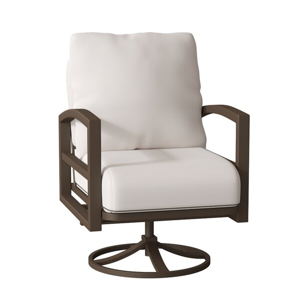 Lakeside Swivel Patio Chair with Cushions by Tropitone