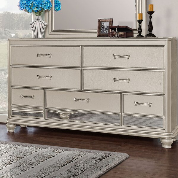 Bedroom 7 Drawer Standard Dresser by BestMasterFurniture