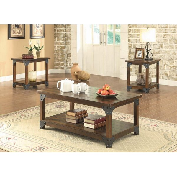 Emery 3 Piece Coffee Table Set by 17 Stories