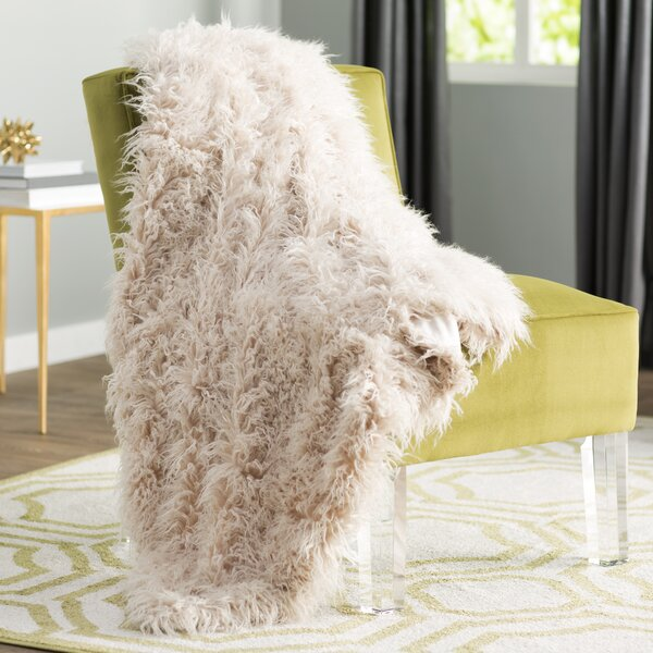 Beachdale Faux Fur Throw by Willa Arlo Interiors