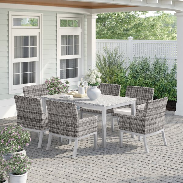 Caspian 7 Piece Dining Set by Sol 72 Outdoor