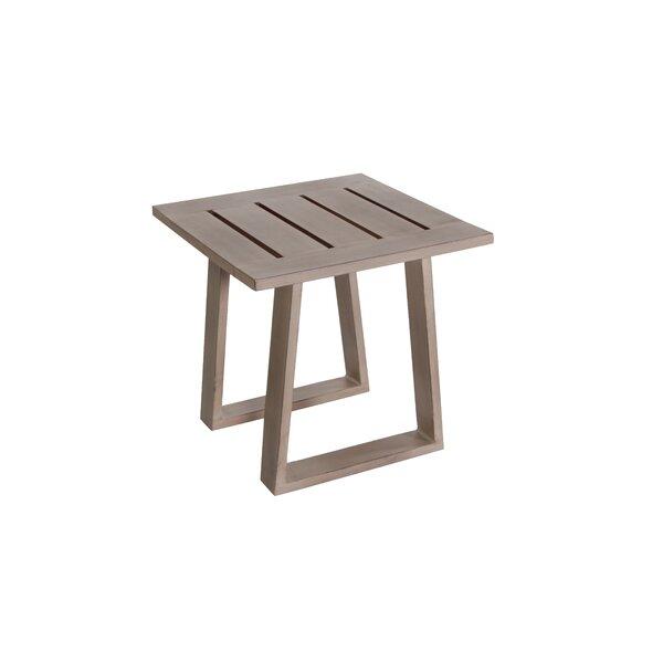 Potsdam Aluminum Side Table by Gracie Oaks