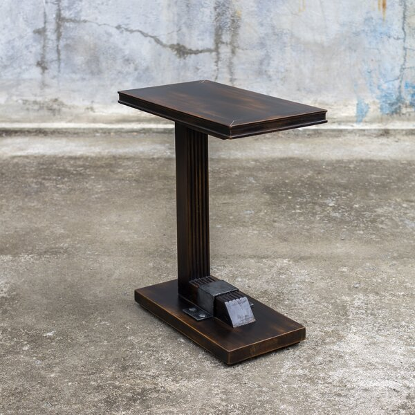 Citlali Industrial End Table by Red Barrel Studio