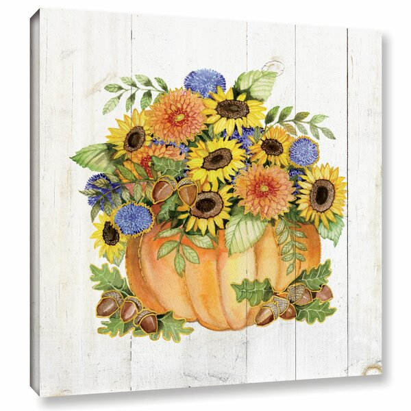 Autumn Days III Painting Print on Wrapped Canvas by Charlton Home