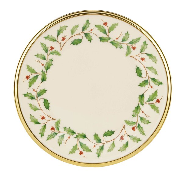 Holiday 6 25 Bread And Butter Plate Set Of 4 By Lenox.