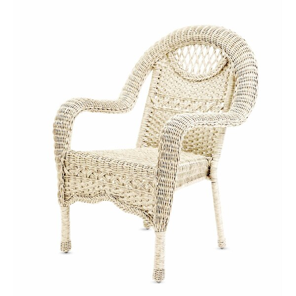 Prospect Hill Stacking Patio Dining Chair by Plow & Hearth