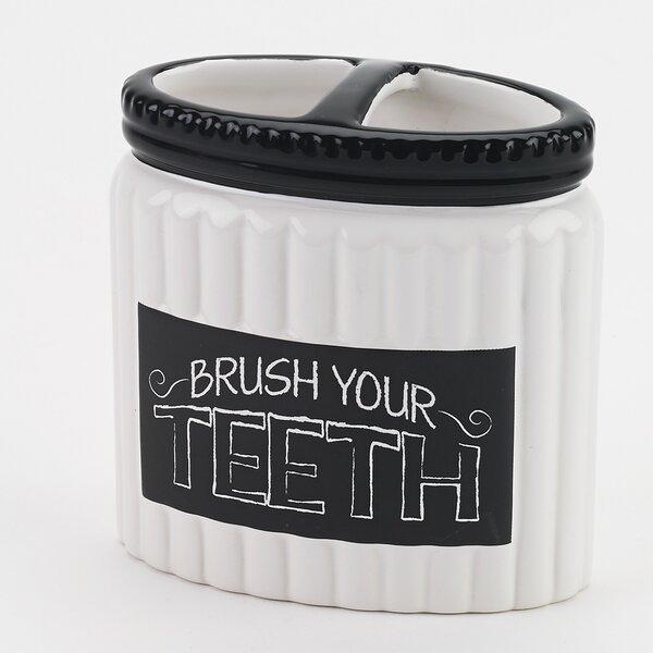 Chalk It up Toothbrush Holder by Avanti Linens