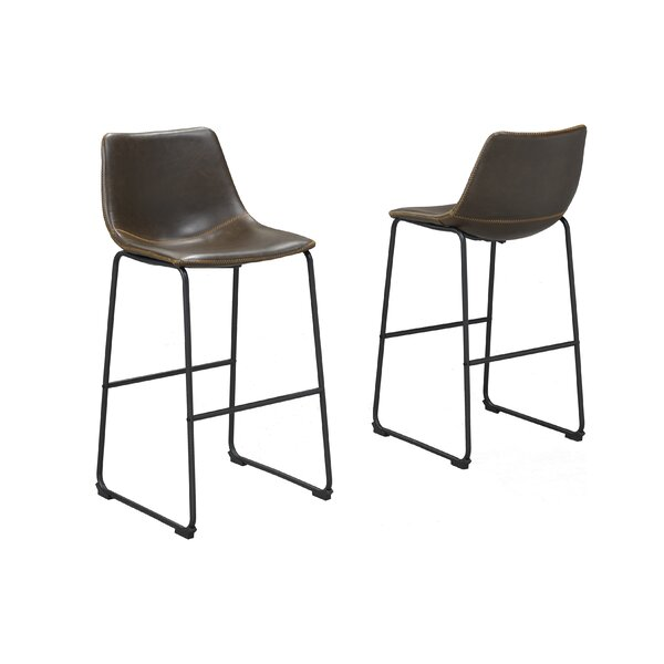 Nyron 29 Bar Stool (Set of 2) by 17 Stories