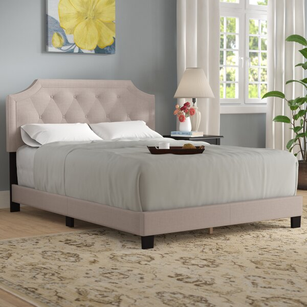 Anouk Upholstered Standard Bed by Andover Mills