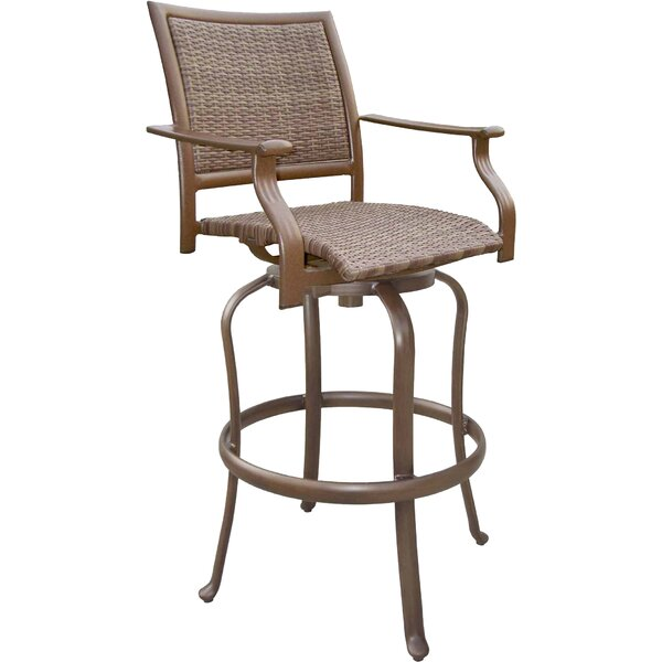 Island Cove 30 Patio Bar Stool by Panama Jack Outdoor