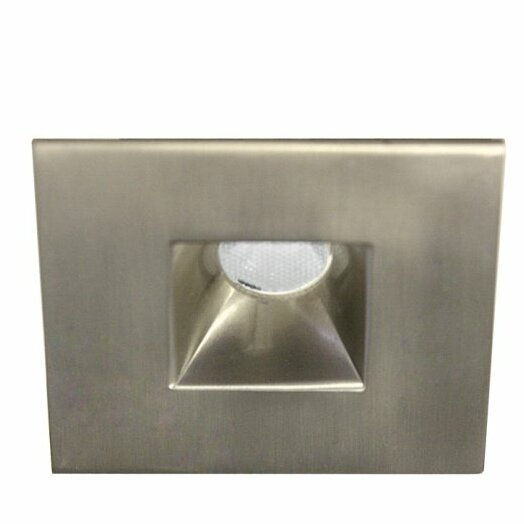 Miniature Downlight Open Reflector Square 1.25 LED Recessed Trim by WAC Lighting
