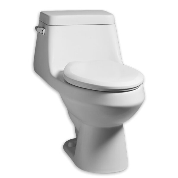 Fairfield 1.28 GPF Elongated One-Piece Toilet by American Standard